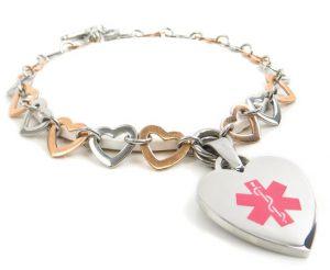 Food Allergy Awareness Bracelet