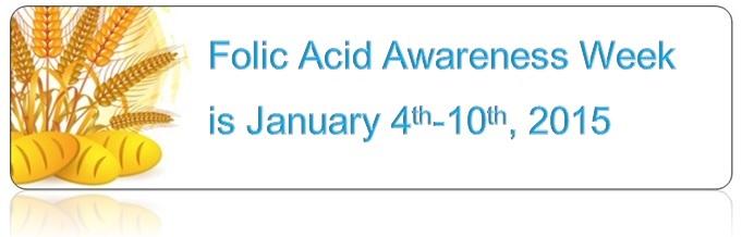 Folic Acid Awareness Week 2015
