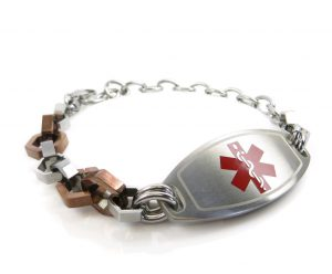 Bracelet with Bolts Design