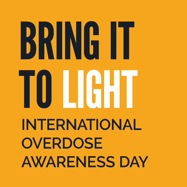 International Overdose Prevention Day: August 30th