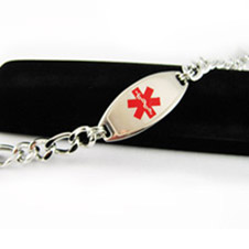 Buy Medical Alert ID Jewelry Men & Women for life Safety