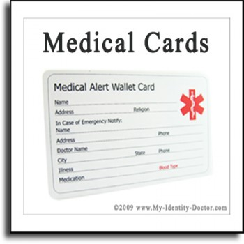 Buy Medical Id Cards Medical Id Cards C 287